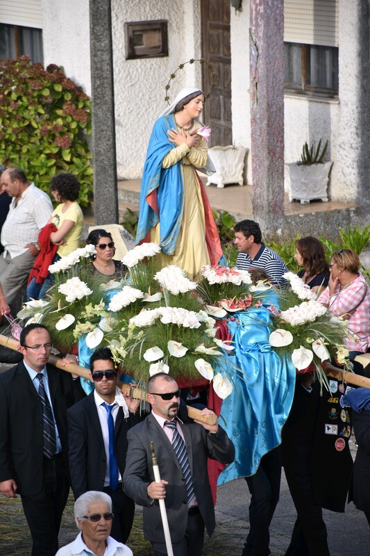 The procession for Our Lady of Encarnacion